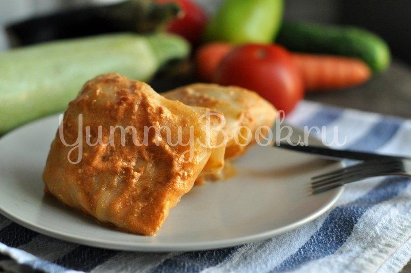 Голубцы под томатно-сливочным соусом - шаг 10