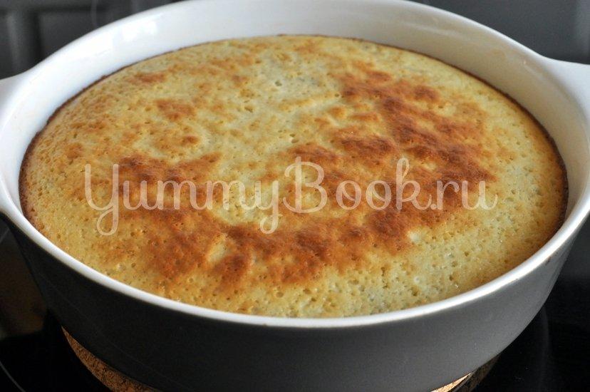 Вишневый пирог на кефире - шаг 6