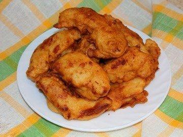 Куриное филе в кляре из кефира