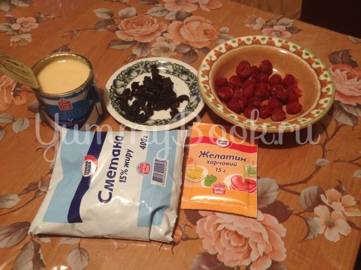 """Торт """"Аля-Чизкейк"""" без выпечки со сгущенным молоком - шаг 3"""