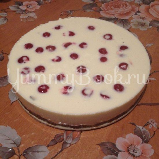 """Торт """"Аля-Чизкейк"""" без выпечки со сгущенным молоком - шаг 6"""