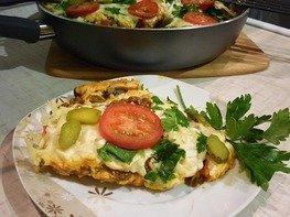 Быстрая пицца с сытной начинкой