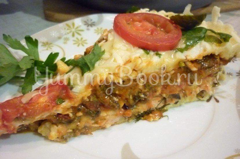 Быстрая пицца с сытной начинкой - шаг 26