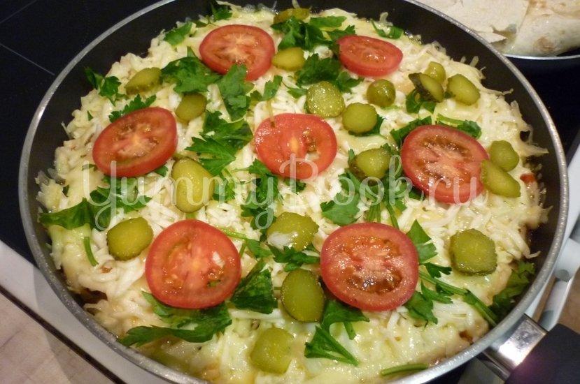 Быстрая пицца с сытной начинкой - шаг 22