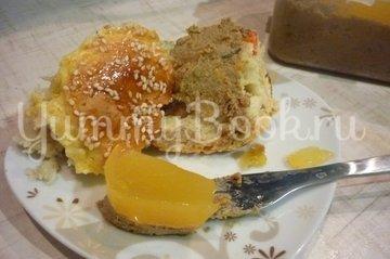Профитроли с апельсиновым желе, пошаговый рецепт с фото