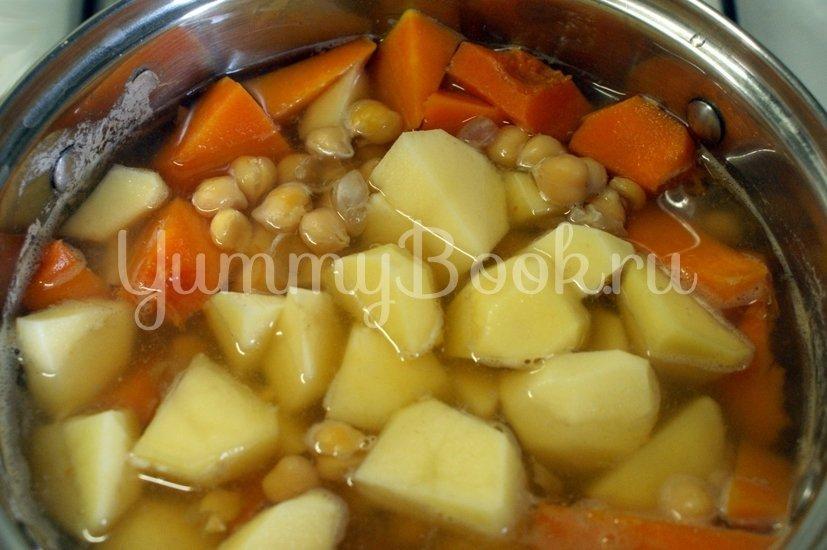 Суп-пюре из нута с тыквой - шаг 3