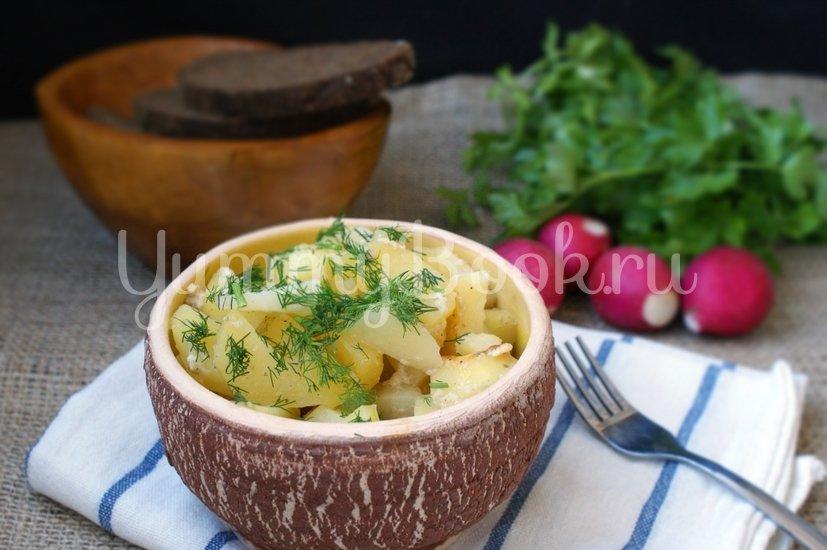 Картофель в домашнем йогурте в мультиварке - шаг 4