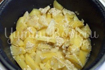Картофель в домашнем йогурте в мультиварке - шаг 3