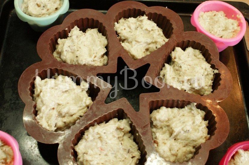 Ореховые кексы - шаг 3
