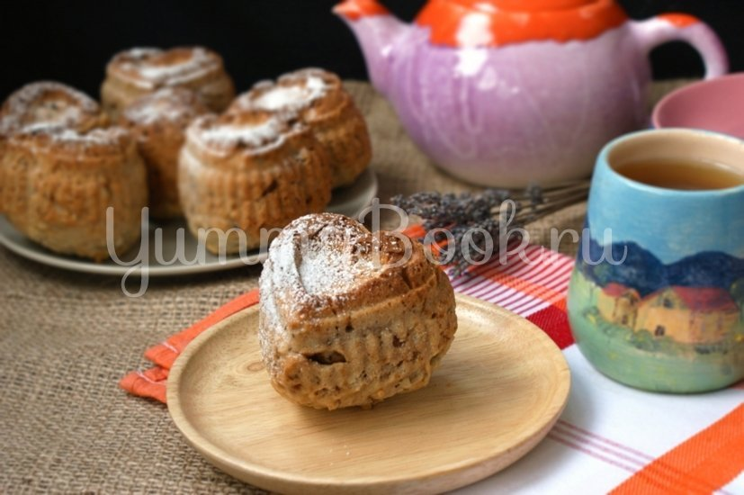 Ореховые кексы - шаг 5