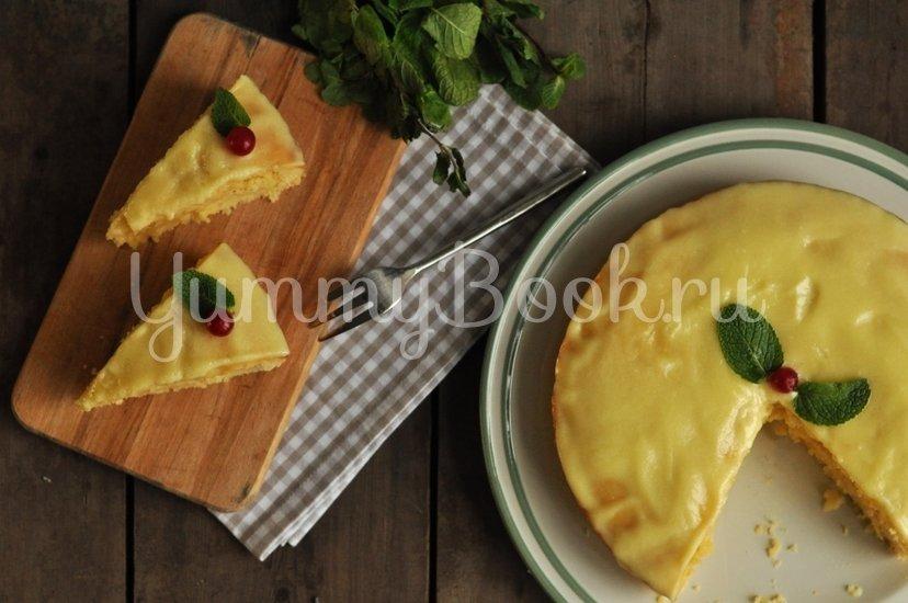 Влажный лимонный пирог - шаг 12