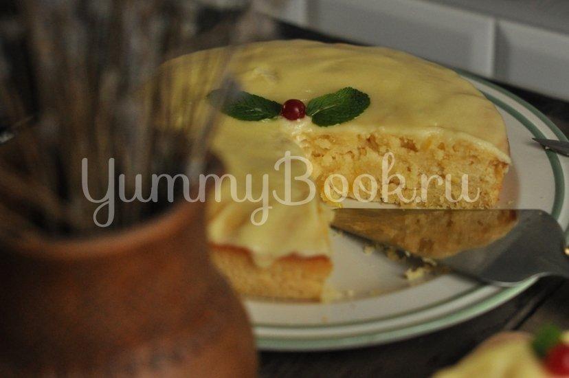 Влажный лимонный пирог - шаг 11