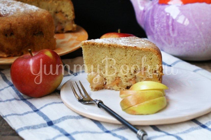 Яблочная шарлотка в мультиварке - шаг 10