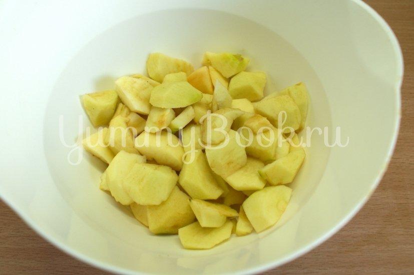 Яблочная шарлотка в мультиварке - шаг 5