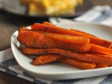 Морковь запеченная со специями