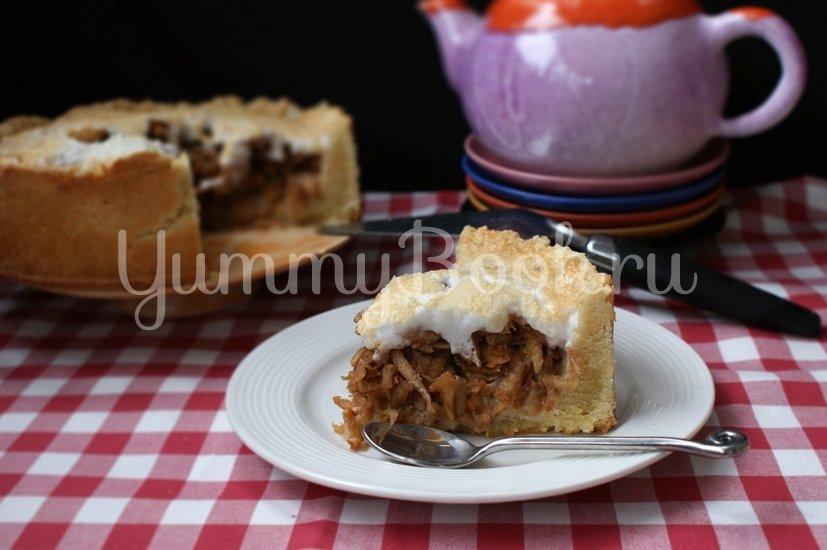 Пирог с айвой - шаг 8