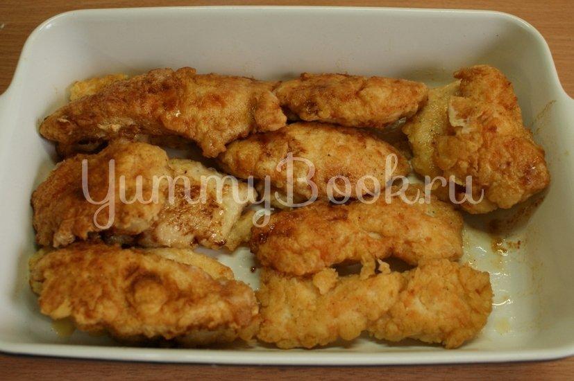 Куриное филе запечённое с соусом терияки - шаг 4