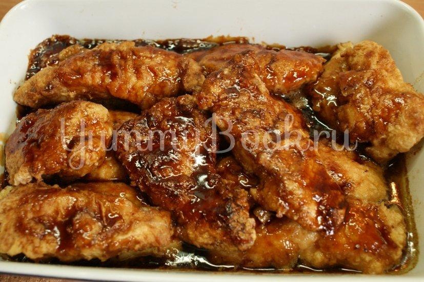 Куриное филе запечённое с соусом терияки - шаг 6