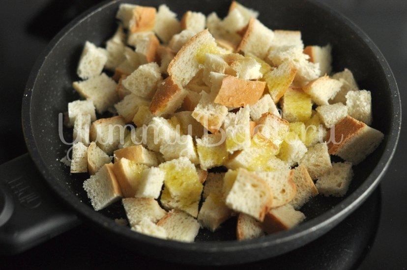 Хрустящий салат с курицей, сыром и кукурузой - шаг 3