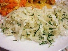 Капустный салат как в столовой