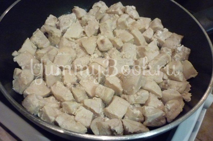 Куриное филе с овощами в сметанном соусе - шаг 8