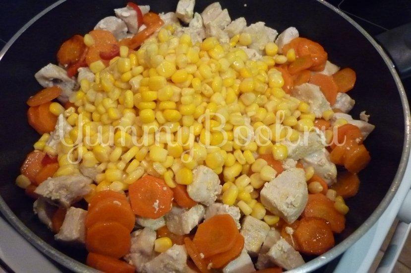 Куриное филе с овощами в сметанном соусе - шаг 10