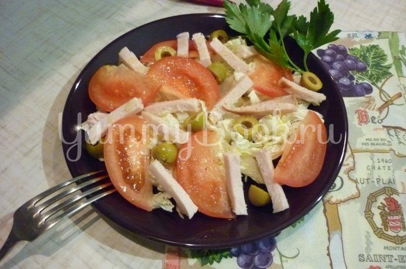 "Лёгкий салат ""Хельга"" - шаг 8"