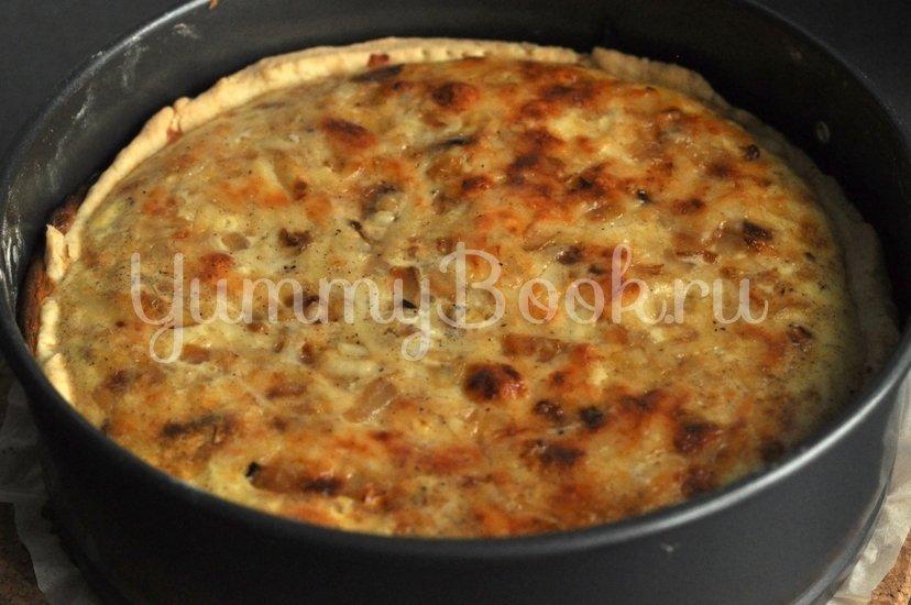 Сырный тарт с луком - шаг 11