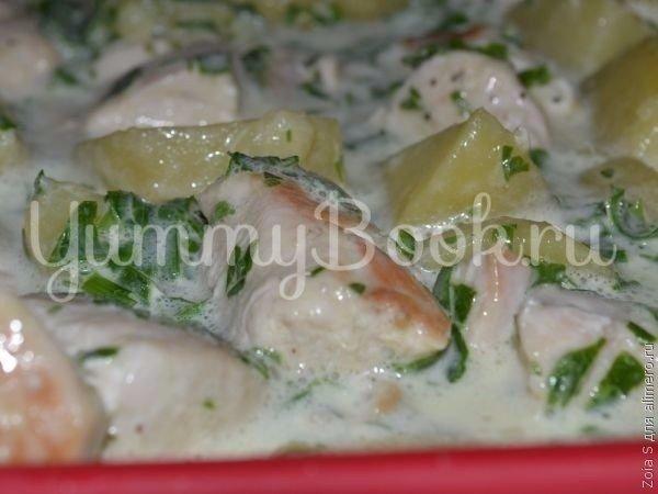 Картофельная запеканка с курицей - шаг 4