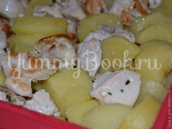 Картофельная запеканка с курицей - шаг 3
