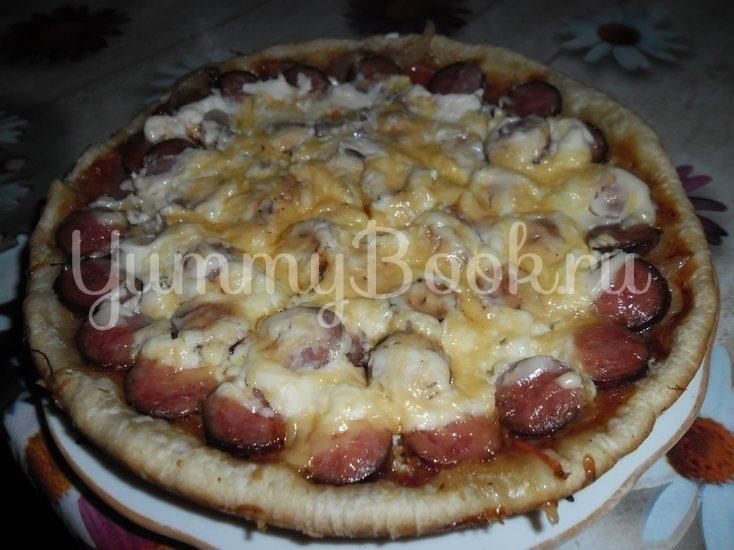 Пицца с грибами (в мультиварке) - шаг 5