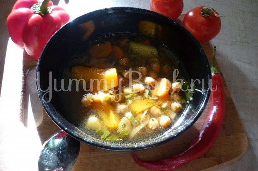 Яркий суп с тыквой и нутом - шаг 22