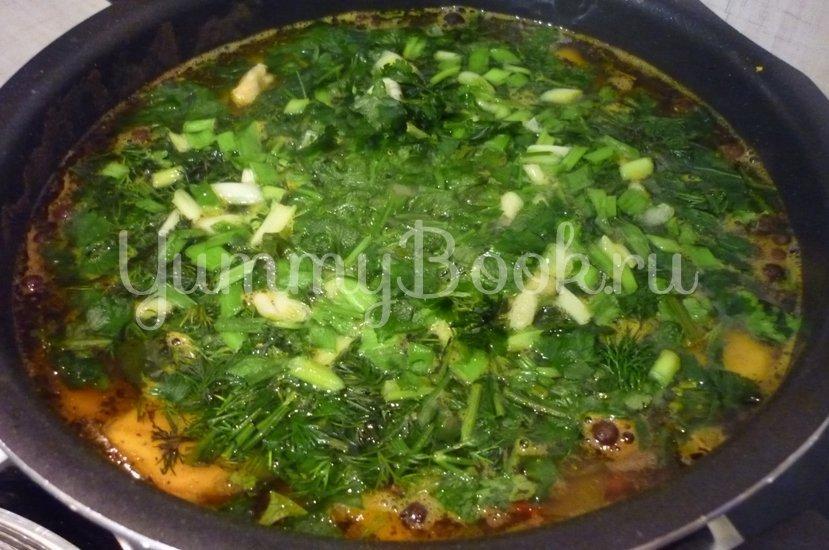 Яркий суп с тыквой и нутом - шаг 20