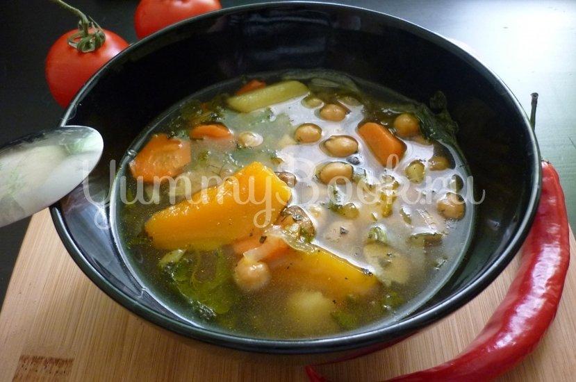 Яркий суп с тыквой и нутом - шаг 24