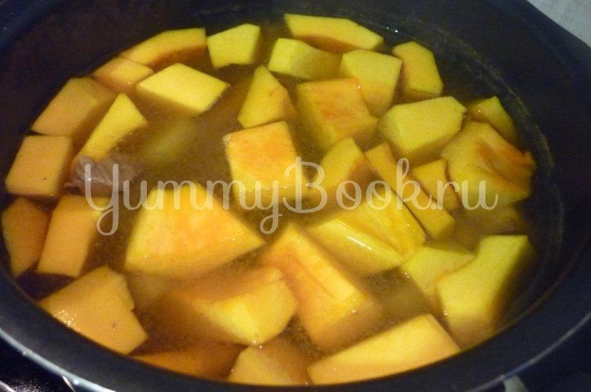 Яркий суп с тыквой и нутом - шаг 16