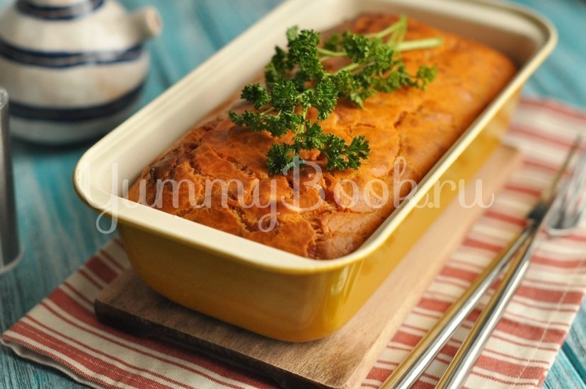 Томатный кекс с сыром - шаг 8