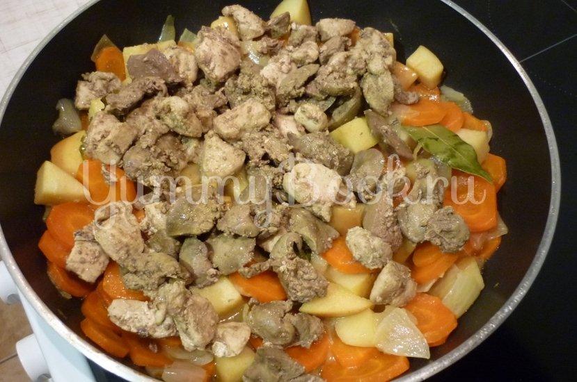 Куриный печёночно-мясной паштет - шаг 11
