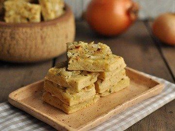 Луковое печенье