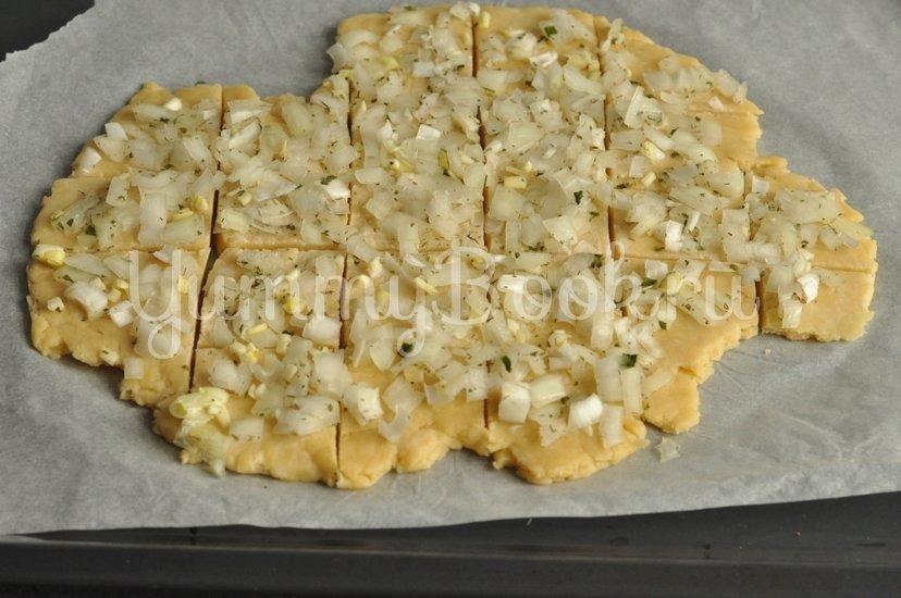 Луковое печенье - шаг 7