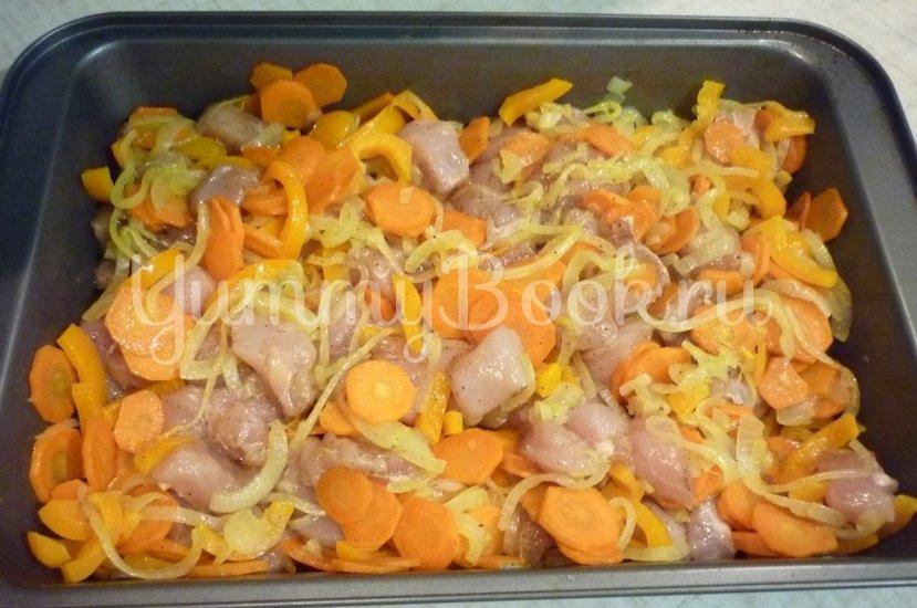 """Курица с овощами в соусе """"Терияки"""" - шаг 14"""