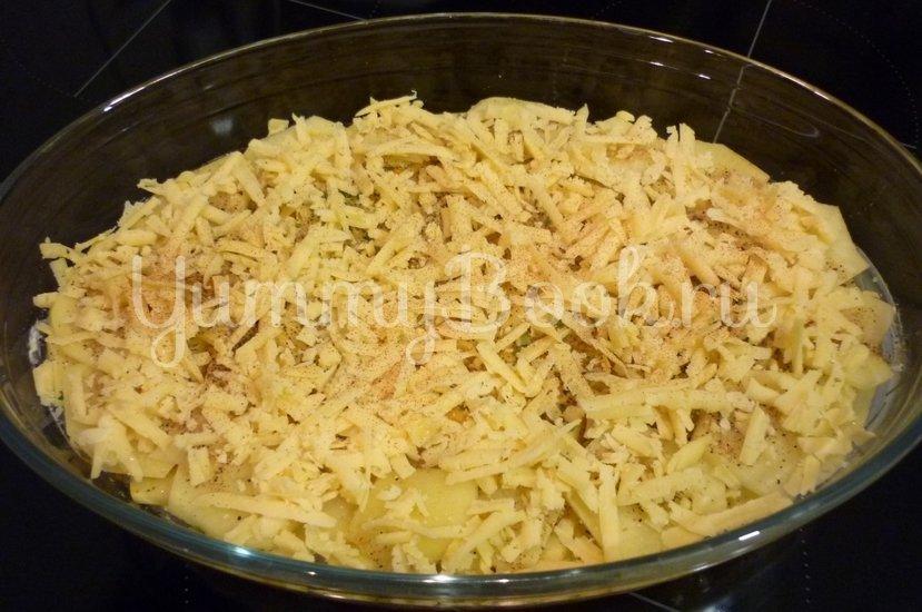 Нежная запеканка из картофеля и цветной капусты - шаг 8