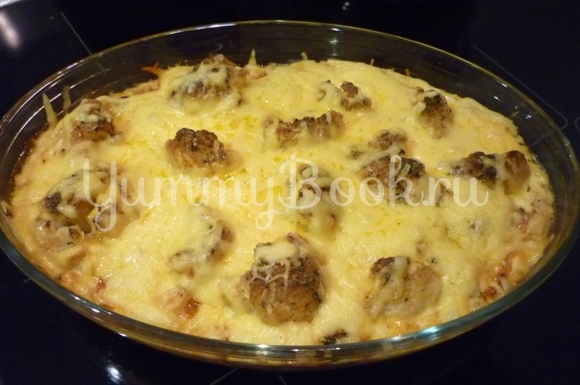 Нежная запеканка из картофеля и цветной капусты - шаг 15