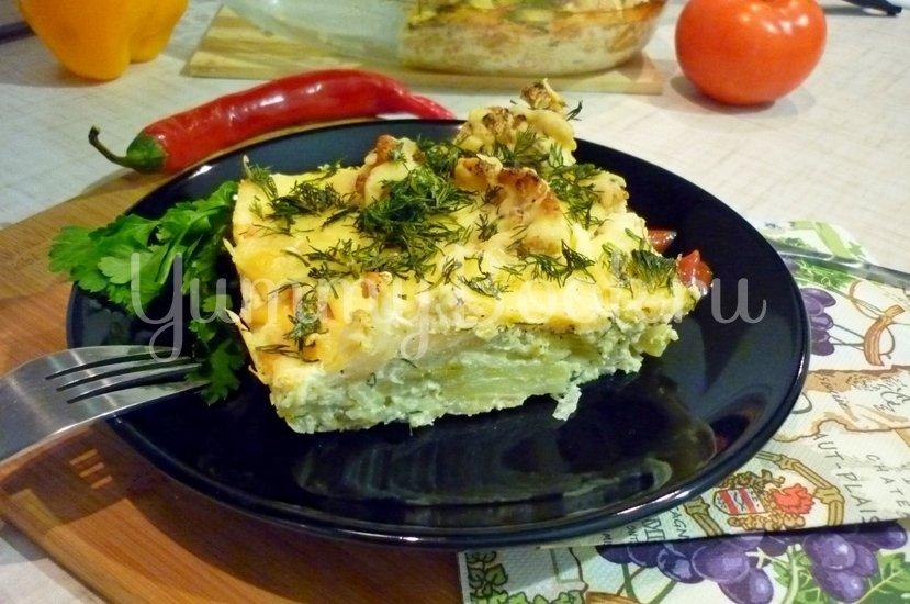 Нежная запеканка из картофеля и цветной капусты - шаг 17