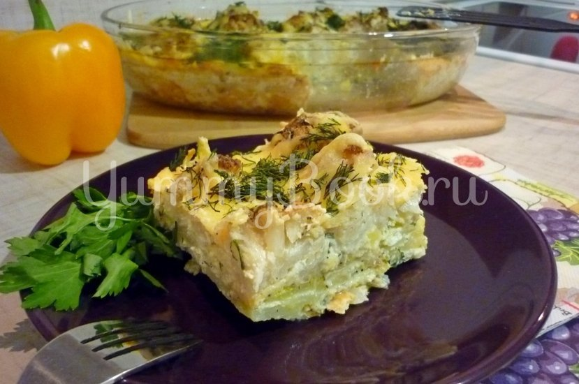 Нежная запеканка из картофеля и цветной капусты - шаг 18