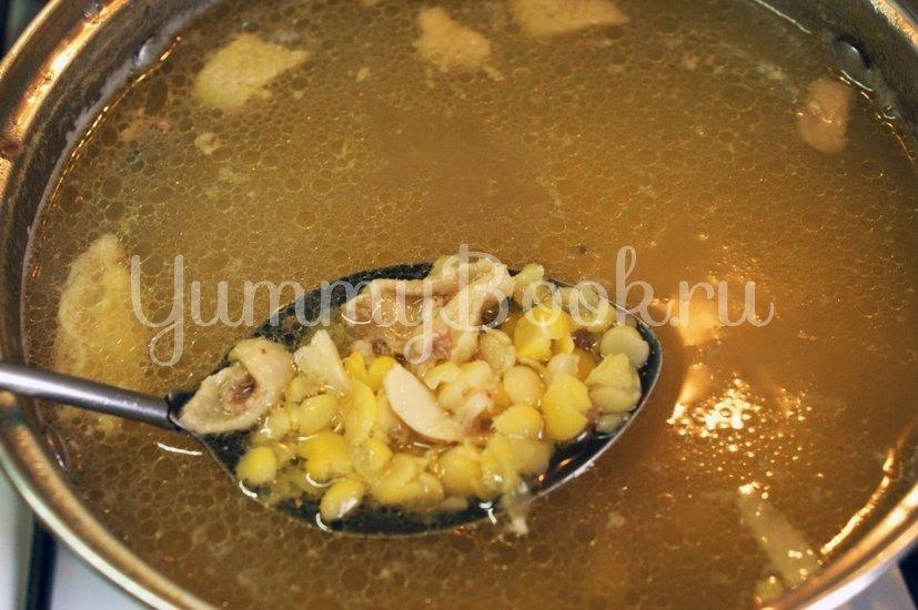 Горохово-грибной суп - шаг 1