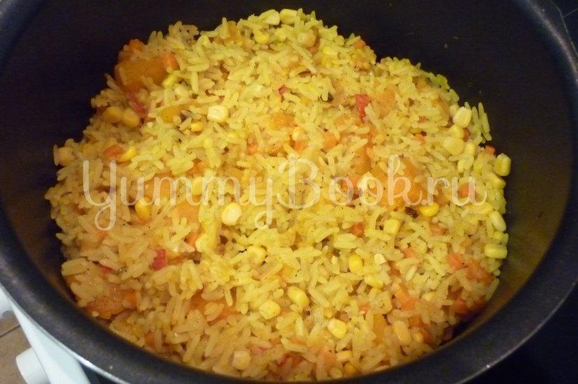 Пряный рис с тыквой и овощами - шаг 14