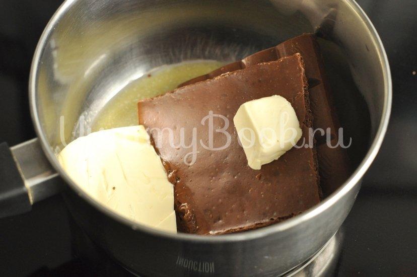Шоколадные кексы с вишней - шаг 1