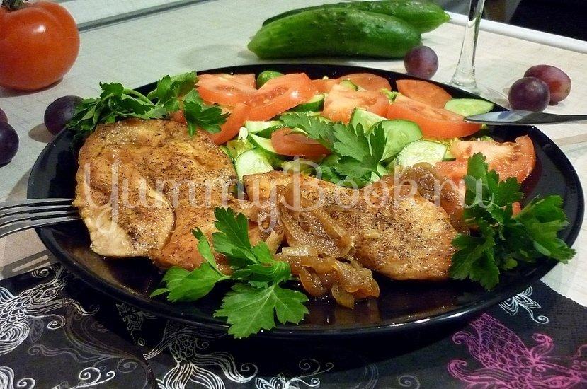 Куриное филе, запечённое в медово-соевом соусе - шаг 12