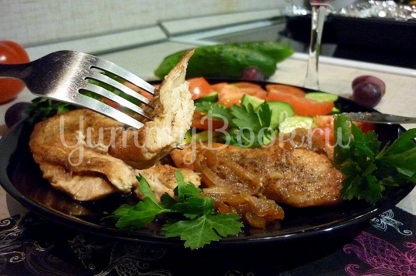 Куриное филе, запечённое в медово-соевом соусе - шаг 13