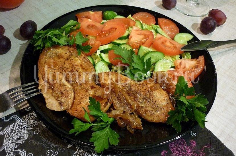 Куриное филе, запечённое в медово-соевом соусе - шаг 11
